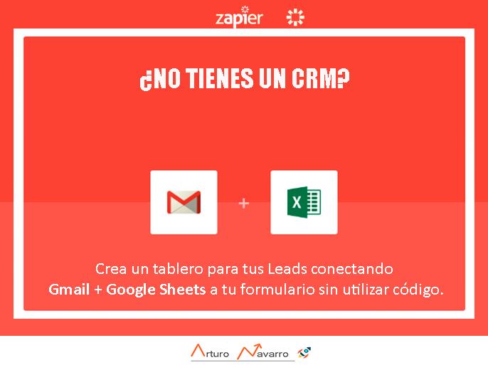 Cómo hacer un dashboard automatizado para tus leads Gmail + Spreadsheets + Zapier