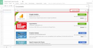 Google analytics addons