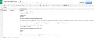 Importar datos de gmail a google sheets