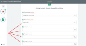 importar datos de gmail a hoja de cálculo de Google