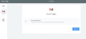gmail zapier trigger