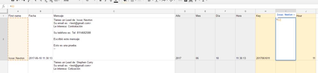 preparar data para vlookup en google sheets