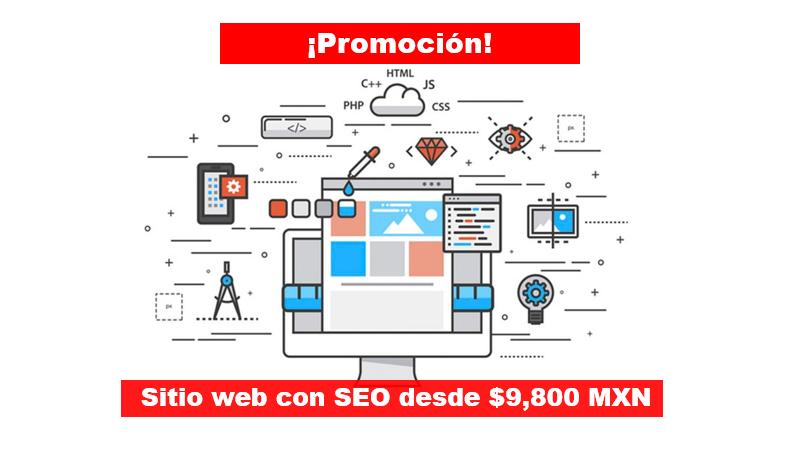Desarrollo de sitio web con técnicas de Posicionamiento en Google – ¡Promoción!
