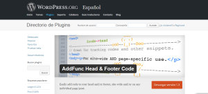 addfunc head and footer code
