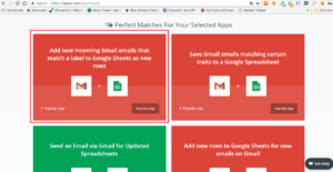 add new incoming gmail emails that match a label to google sheets