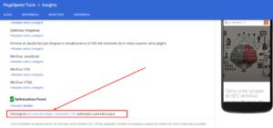 descarga de archivos comprimidos SEO WPO