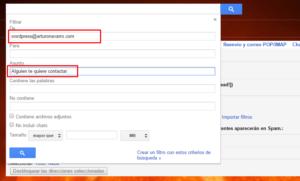 filtros para etiquetas gmail configuracion