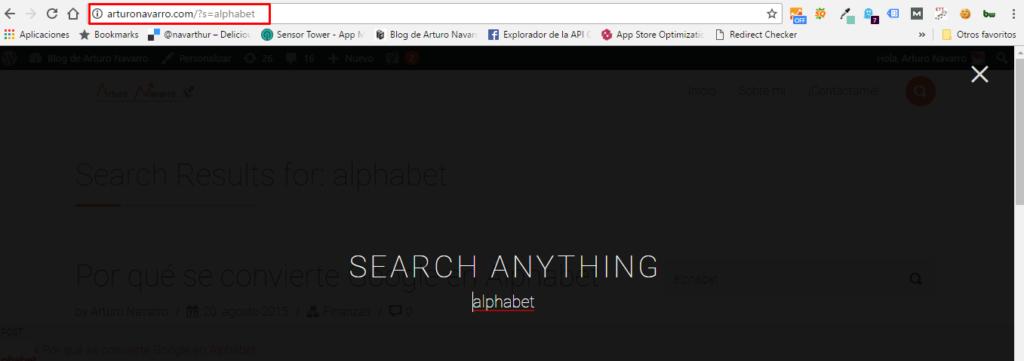 parámetros de búsqueda SEO