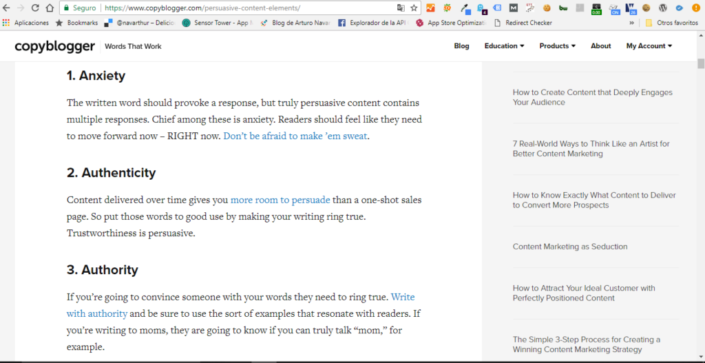 redacción para blogs